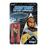 Super7 Star Trek The Next Generation ReAction Figure - Worf