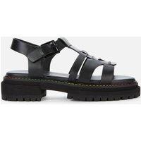 Kurt Geiger London Women's Birdie Leather Chunky Sandals - Black - UK 4