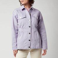 Ted Baker Womens Sofiaz Oversized Denim Jacket With Elastic