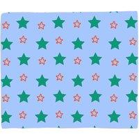 Mixed Stars Fleece Blanket - M