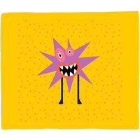 Zap Monster Fleece Blanket - S