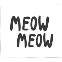 Meow Meow Fleece Blanket - S