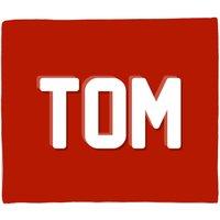 Embossed Tom Fleece Blanket - M