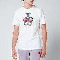 HUGO Men's Dnake T-Shirt - White - XL