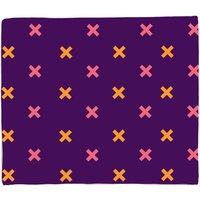 X Marks The Spot Fleece Blanket - M