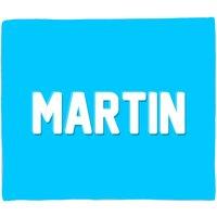 Embossed Martin Fleece Blanket - M