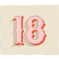 18 Fleece Blanket - S