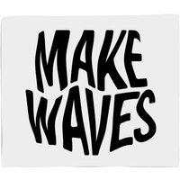 Make Waves Fleece Blanket - M
