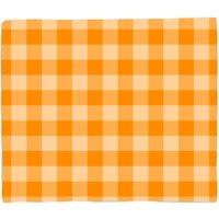 Image of Baking Blanket Orange Bed Throw