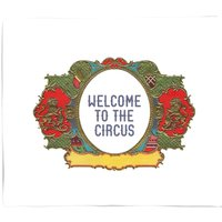 Welcome To The Circus Wide Emblem Bed Throw