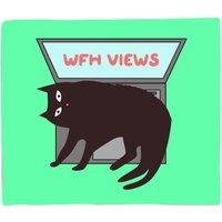 WFH Views Bed Throw