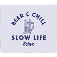 Beer And Chill Bed Throw