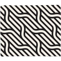 Chunky Diagonal Lines Bed Throw