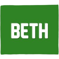 Embossed Beth Bed Throw