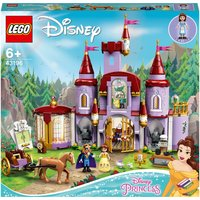 LEGO Disney Princess Belle and the Beast's Castle Toy (43196)