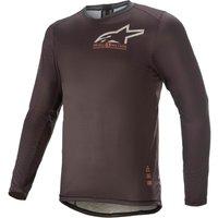 Alpinestars Alps 6.0 Long Sleeve MTB Jersey - XL - Black/Coral