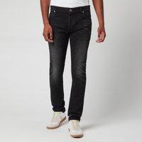 Balmain Mens 6 Pocket Denim Slim Jeans - Black - W32