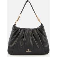 MICHAEL MICHAEL KORS Womens Hannah Shoulder Bag - Black