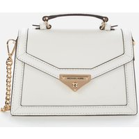 MICHAEL Michael Kors Womens Grace Cross Body Bag - White