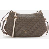 MICHAEL Michael Kors Womens Grand Messenger Bag - Brown/Soft Pink