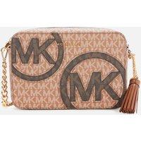 MICHAEL MICHAEL KORS Womens Jet Set Camera Bag - Luggage/Mul