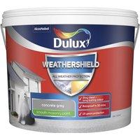 Dulux Weathershield Smooth Masonry Paint - Concrete Grey -