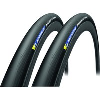 Michelin Power All Season V2 Folding Tyre Twin Pack - 700c x 25mm
