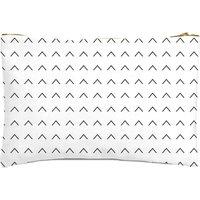 Linear Arrows Zipped Pouch