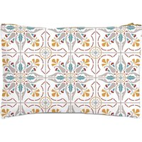 Moroccan Tiles Zipped Pouch