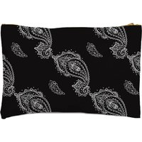 Image of Linked Paisley Zipped Pouch