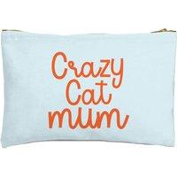 Crazy Cat Mum Zipped Pouch