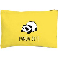 Panda Butt Zipped Pouch