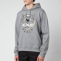 KENZO Men's Tiger Original Hoodie - Dove Grey - M