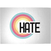 Kate Rainbow Woven Rug - Large