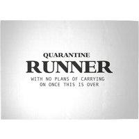 Quarantine Runner Woven Rug - Large