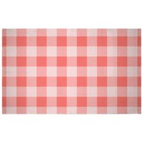 Baking Blanket Red Woven Rug - Small