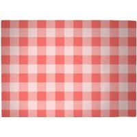 Baking Blanket Red Woven Rug - Large