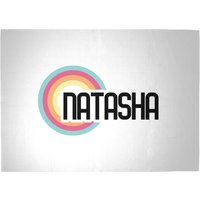 Natasha Rainbow Woven Rug - Large