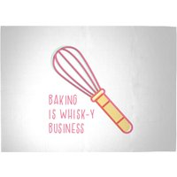 Baking Is Whisk-y Business Woven Rug - Large