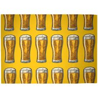 Beers Woven Rug - Large