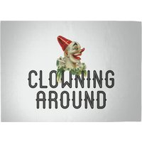 Clowning Around Woven Rug - Large
