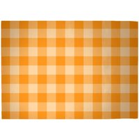 Baking Blanket Orange Woven Rug - Large