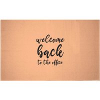 Welcome Back To The Office Woven Rug - Small