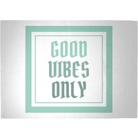 Good Vibes Only Woven Rug - Large