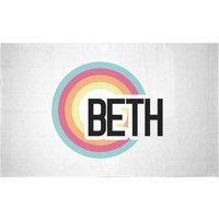 Beth Rainbow Woven Rug - Small