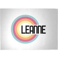 Leanne Rainbow Woven Rug - Large