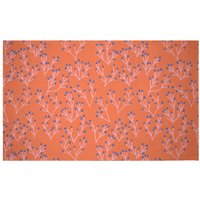 Coral Woven Rug - Small