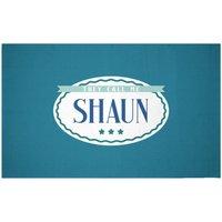 They Call Me Shaun Woven Rug - Small