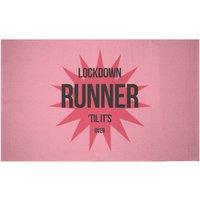 Lockdown Runner Woven Rug - Small