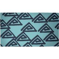 Abstract Tribal Triangular Pattern Woven Rug - Medium